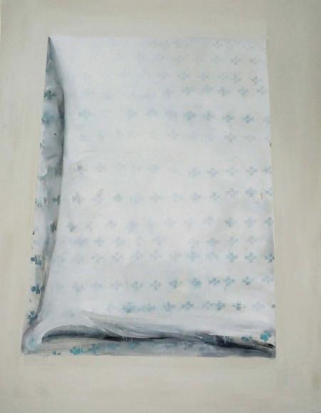 Deka IV, 180 x 140  cm, akryl na plátně