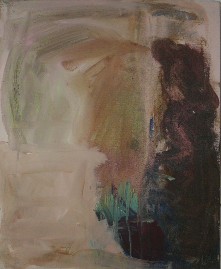 Park V, 70 x 50 cm, akryl na plátně