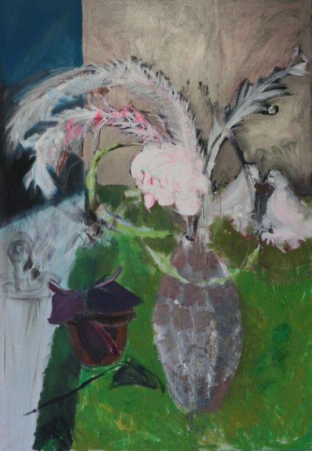 Brka, 200 x 140 cm, akryl na plátně
