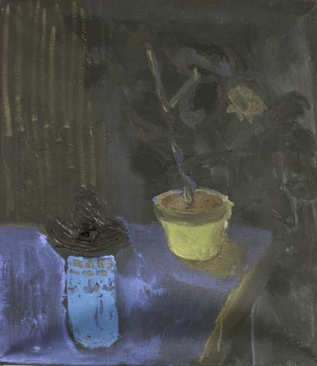 Dar spleenu, 70 x 50 cm, akryl na plátně