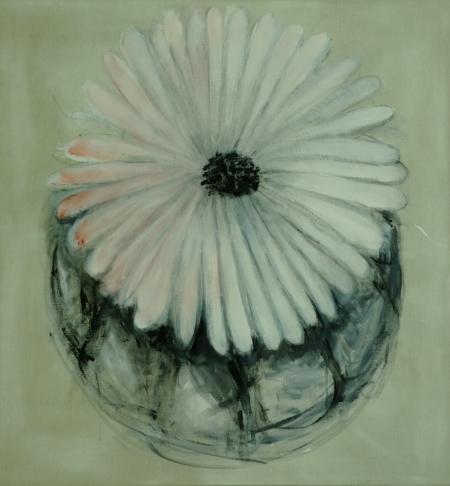 Bábovička VII, 150 x 130 cm, akryl na plátně, rezervováno