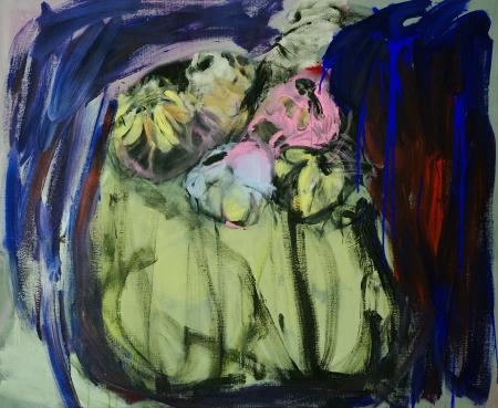 Bábovička IX, 140 x 170 cm, akryl na plátně, rezervováno