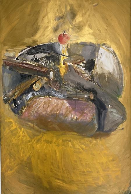 Ohniště II, 150 x 100 cm,