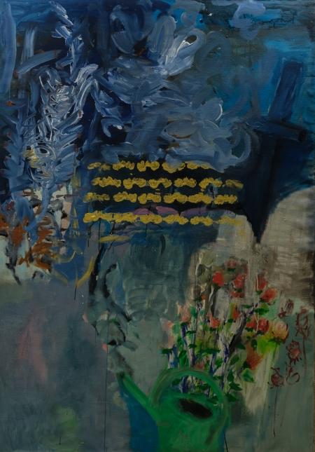 Konev, 200 x 140 cm, akryl na plátně