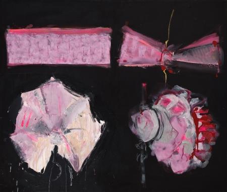 Krep 'n' Roll, 110  x 130  cm, akryl na plátně, soukromá sbírka